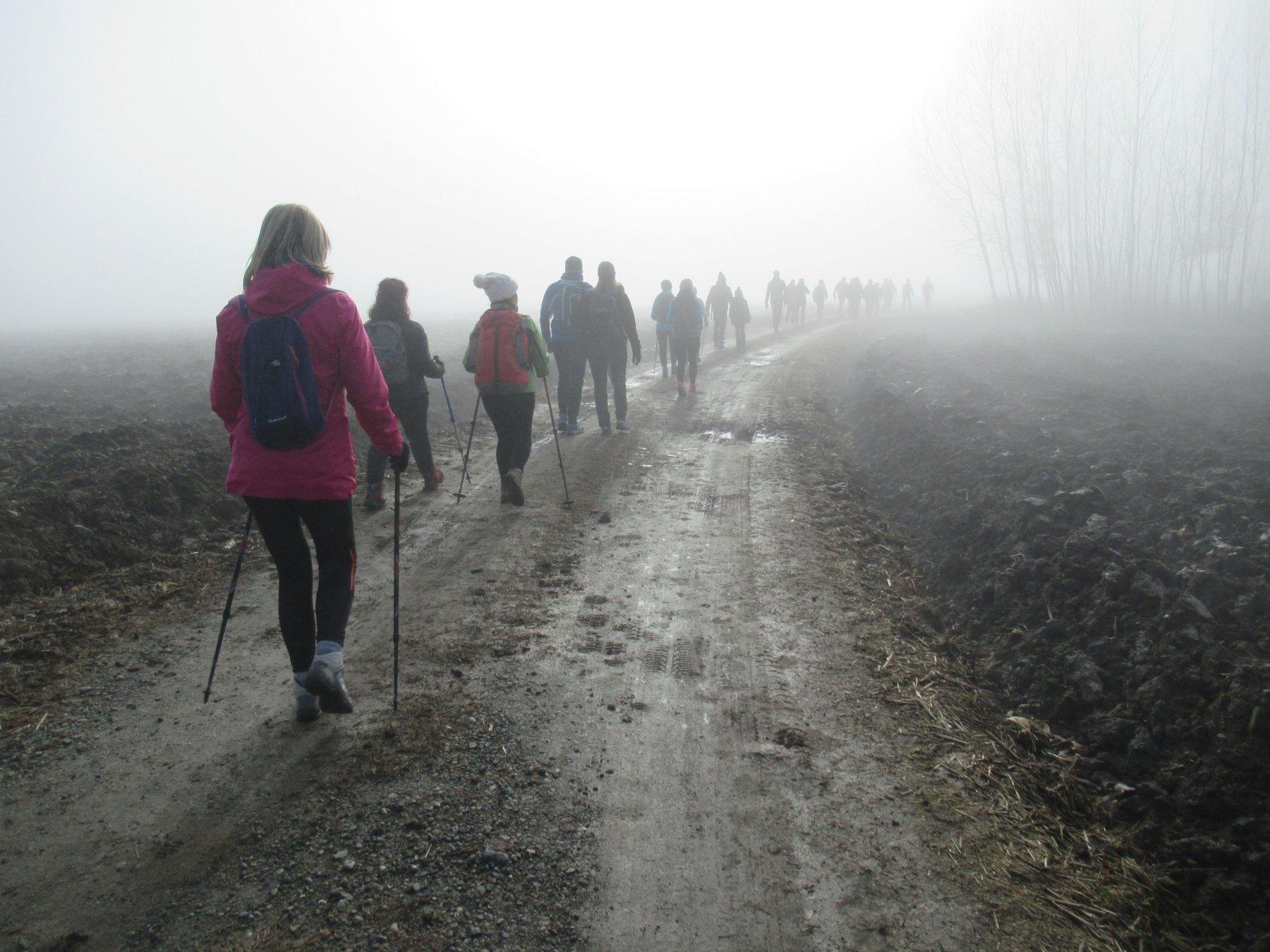 Primo tratto nella nebbia
