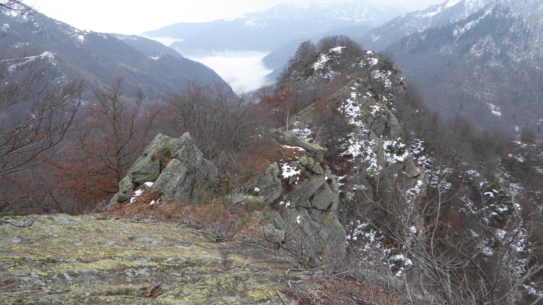 Percorso di cresta verso il Monte Betassa
