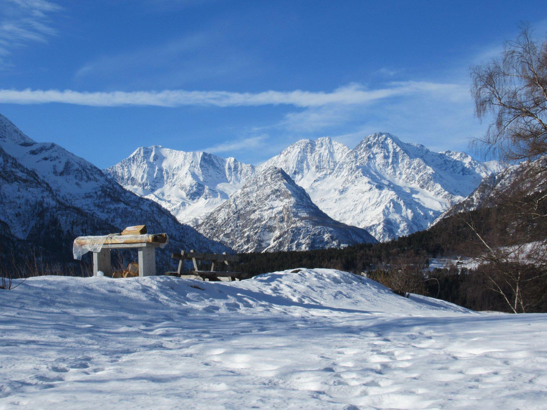 Punto panoramico alpe Salera