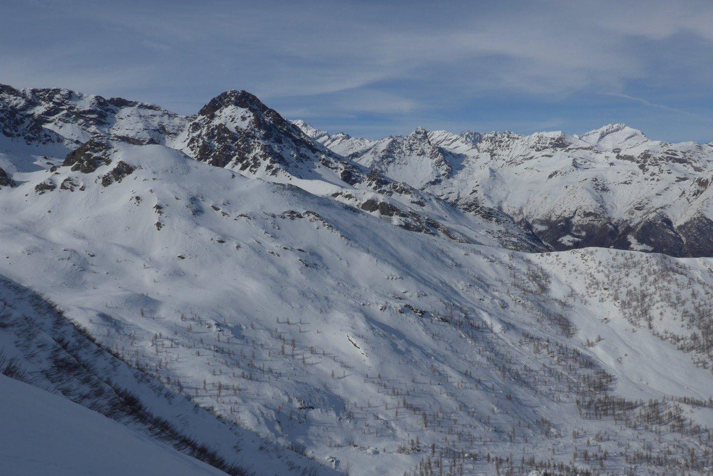 Monte Rosso d'Ala, Uja di Mondrone e Levanne