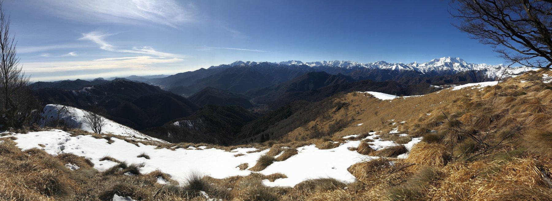 Panorama dal Camossaro