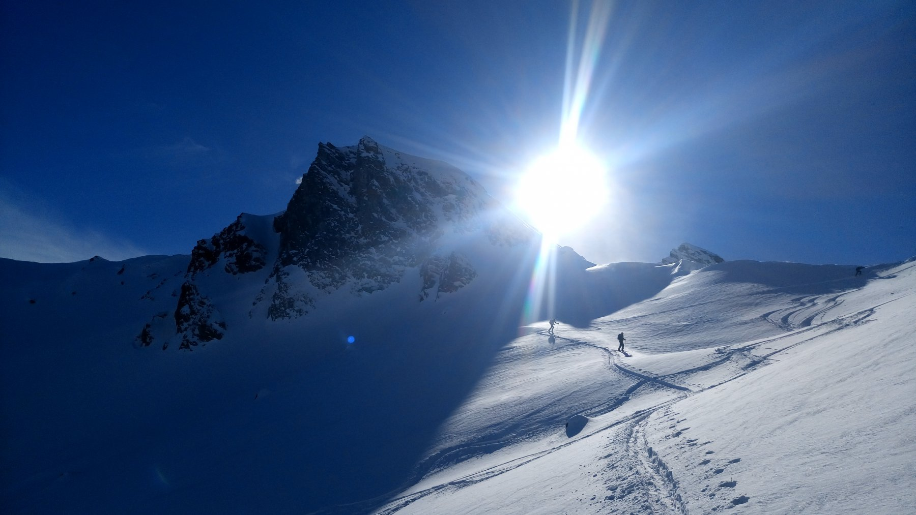 Risalita al passo Fornalino dall'Alpe omonima