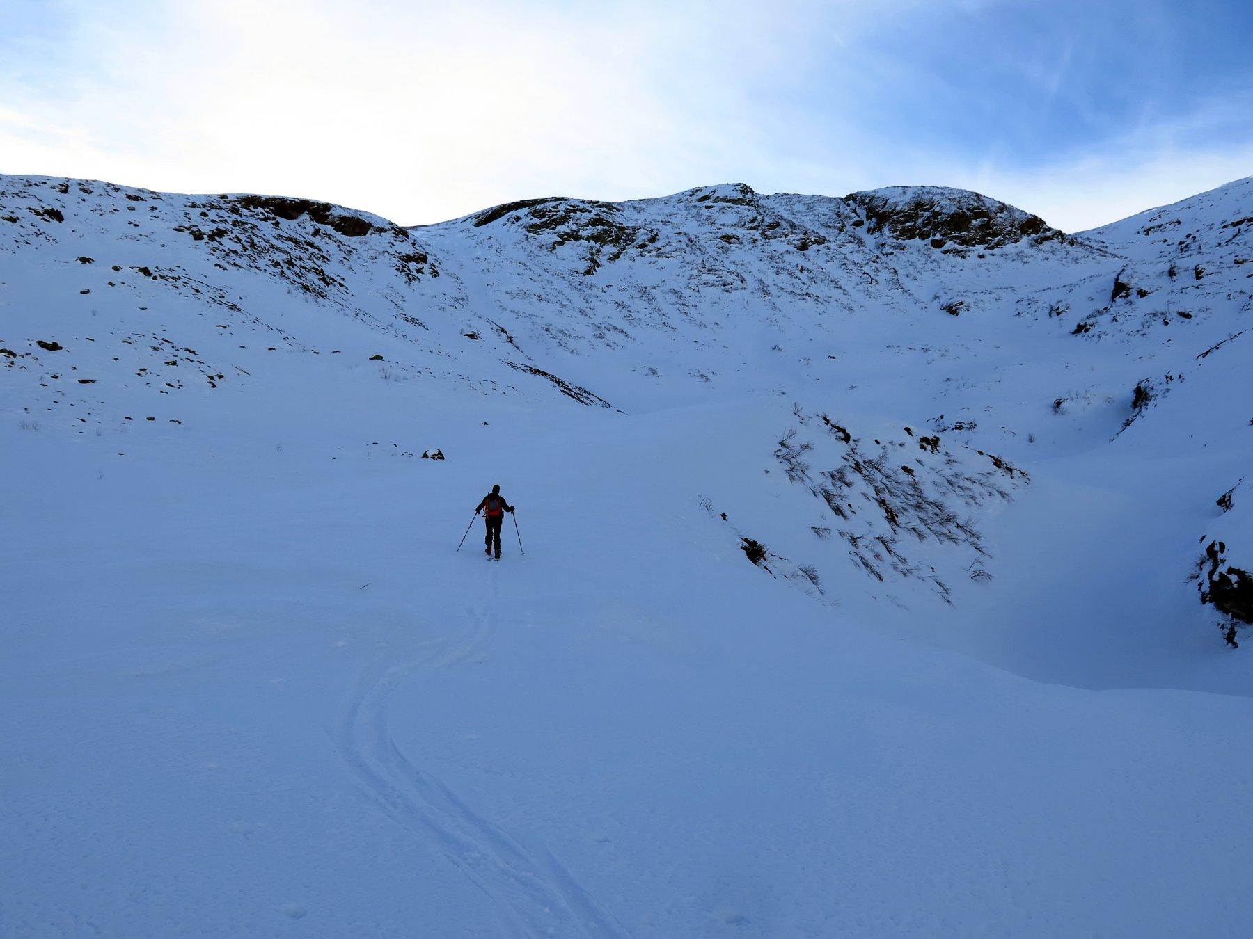 In prossimità dell'Alpe di Serre vecchio