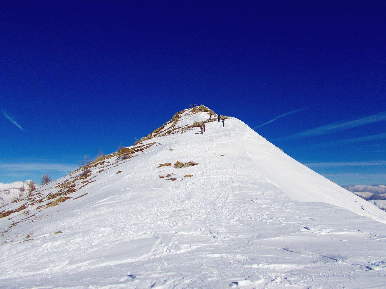 la cima del Giobert