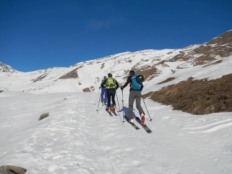 i pendii sud est del Monte Tibert