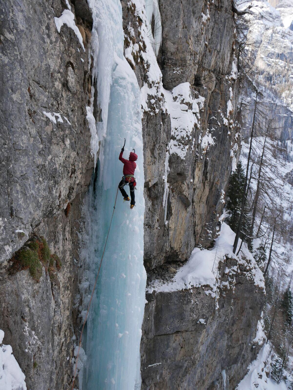 Val di Gares Ringo (Cascata) 2018-02-10