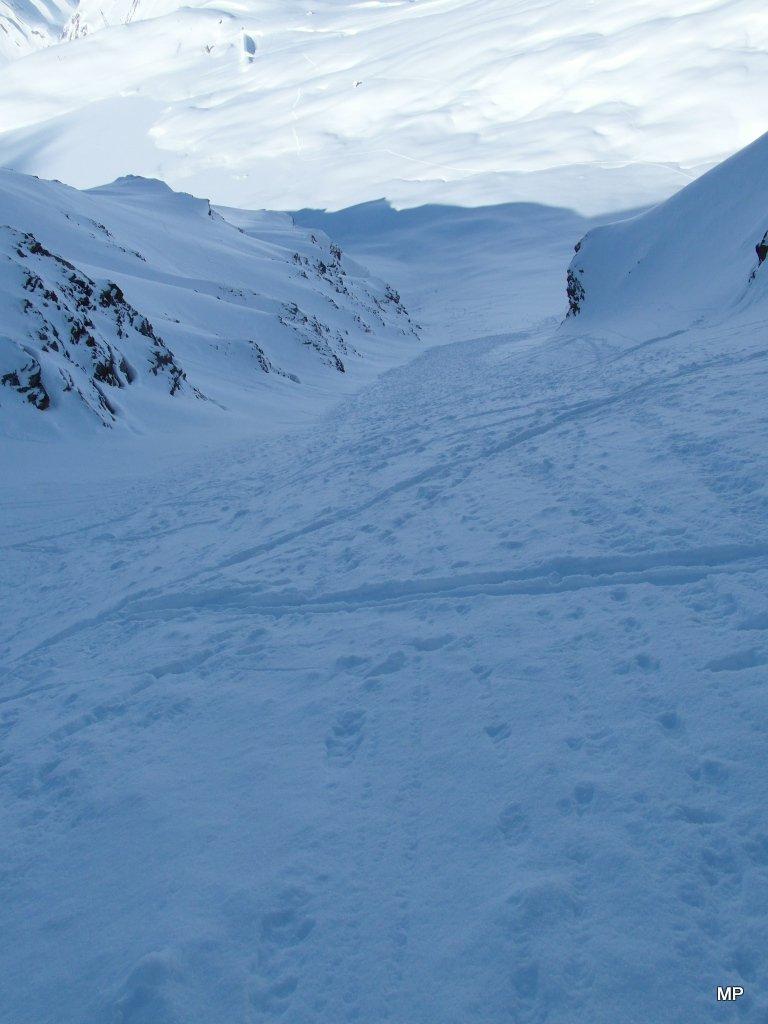 salita con gli sci