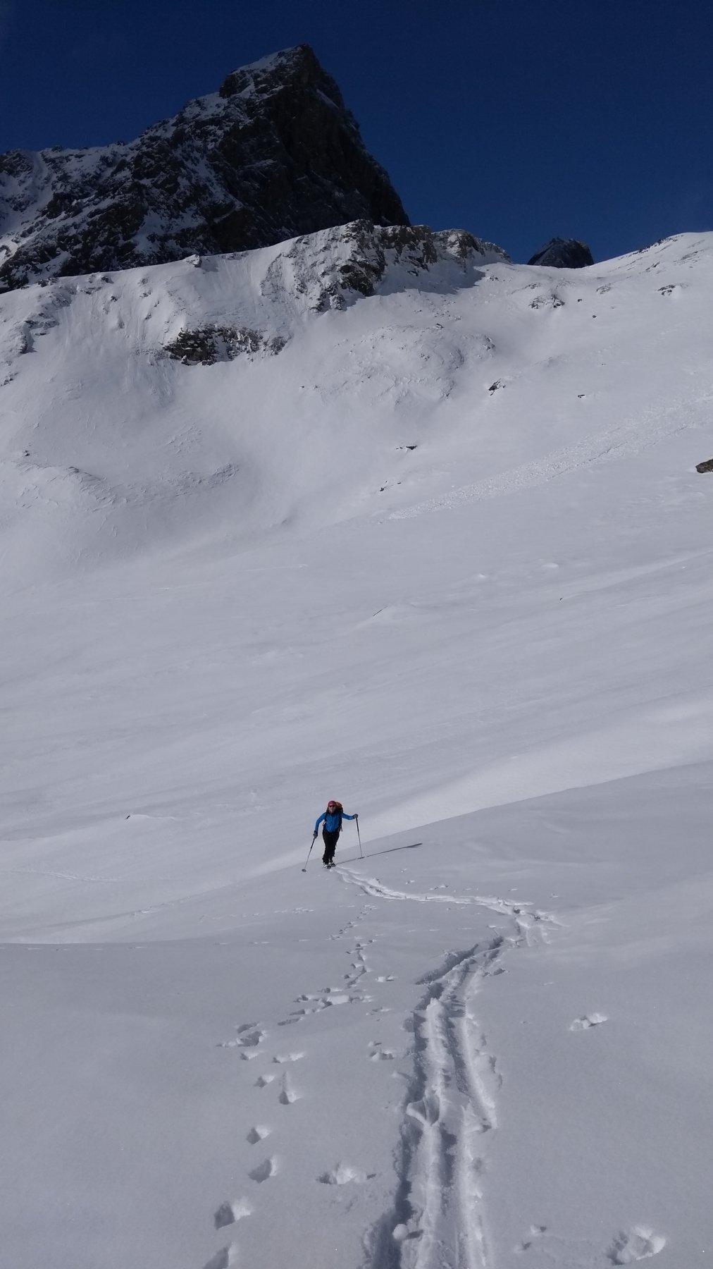 Traversando sopra Alpe Vasuera