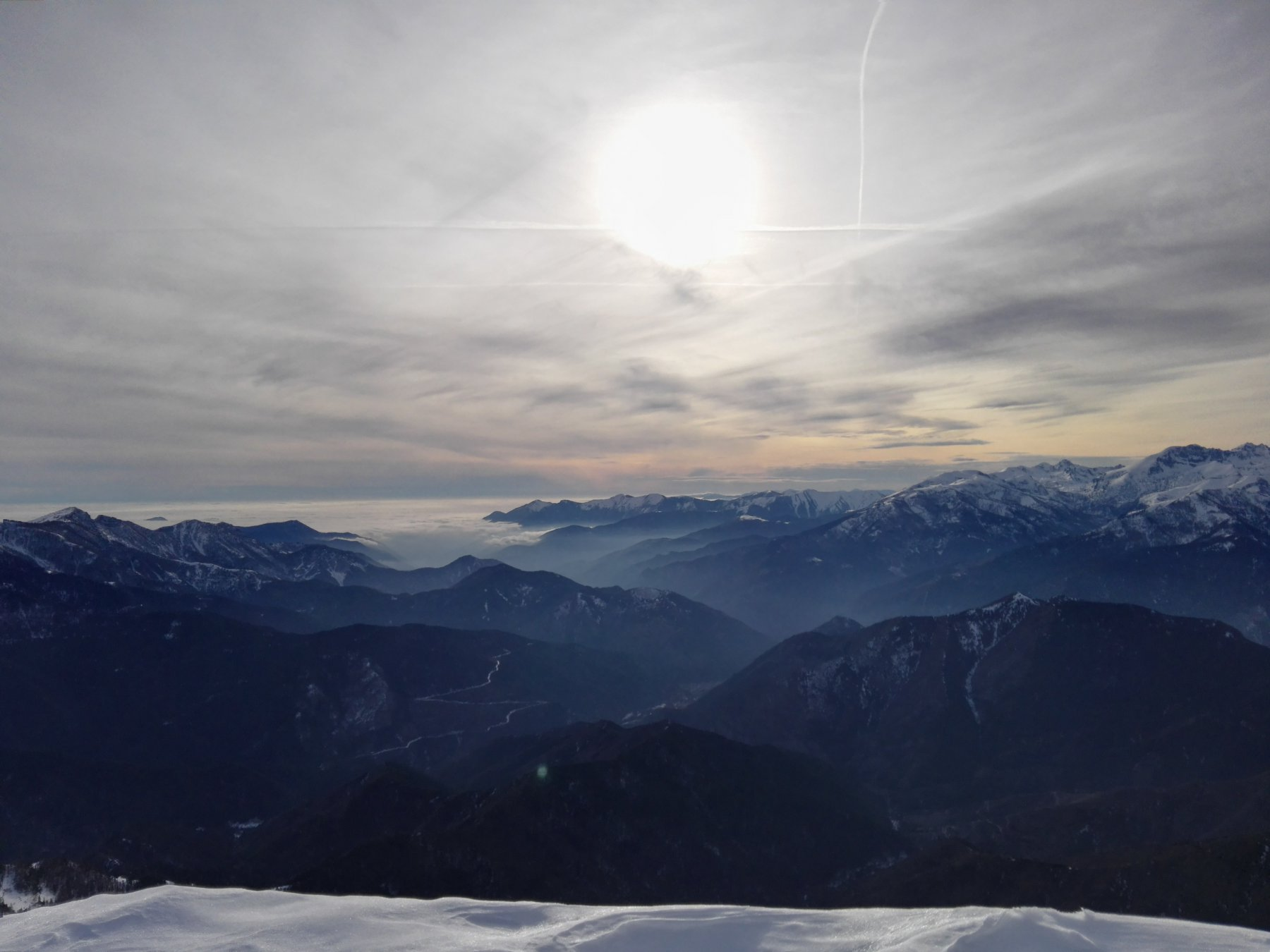 Uno sguardo verso la Costa Azzurra