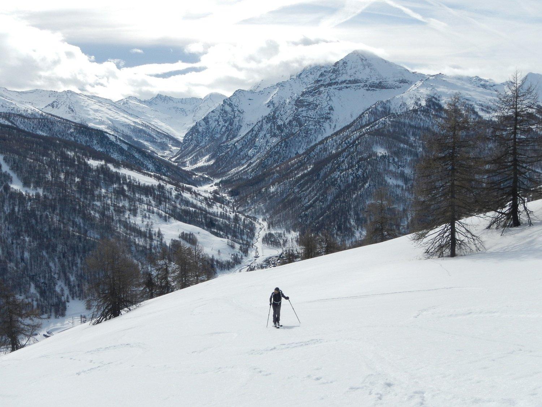 Val Troncea sullo sfondo