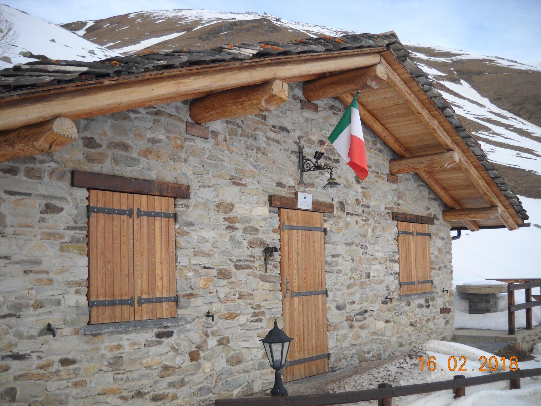 capanna Franco Ellena 2020 mt.Gr. Chiotti