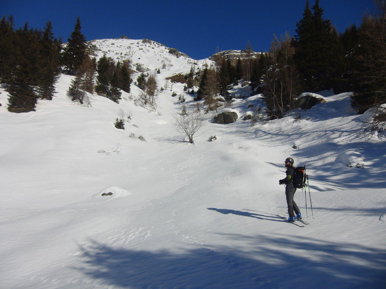 Pendii verso Rocca Cialva
