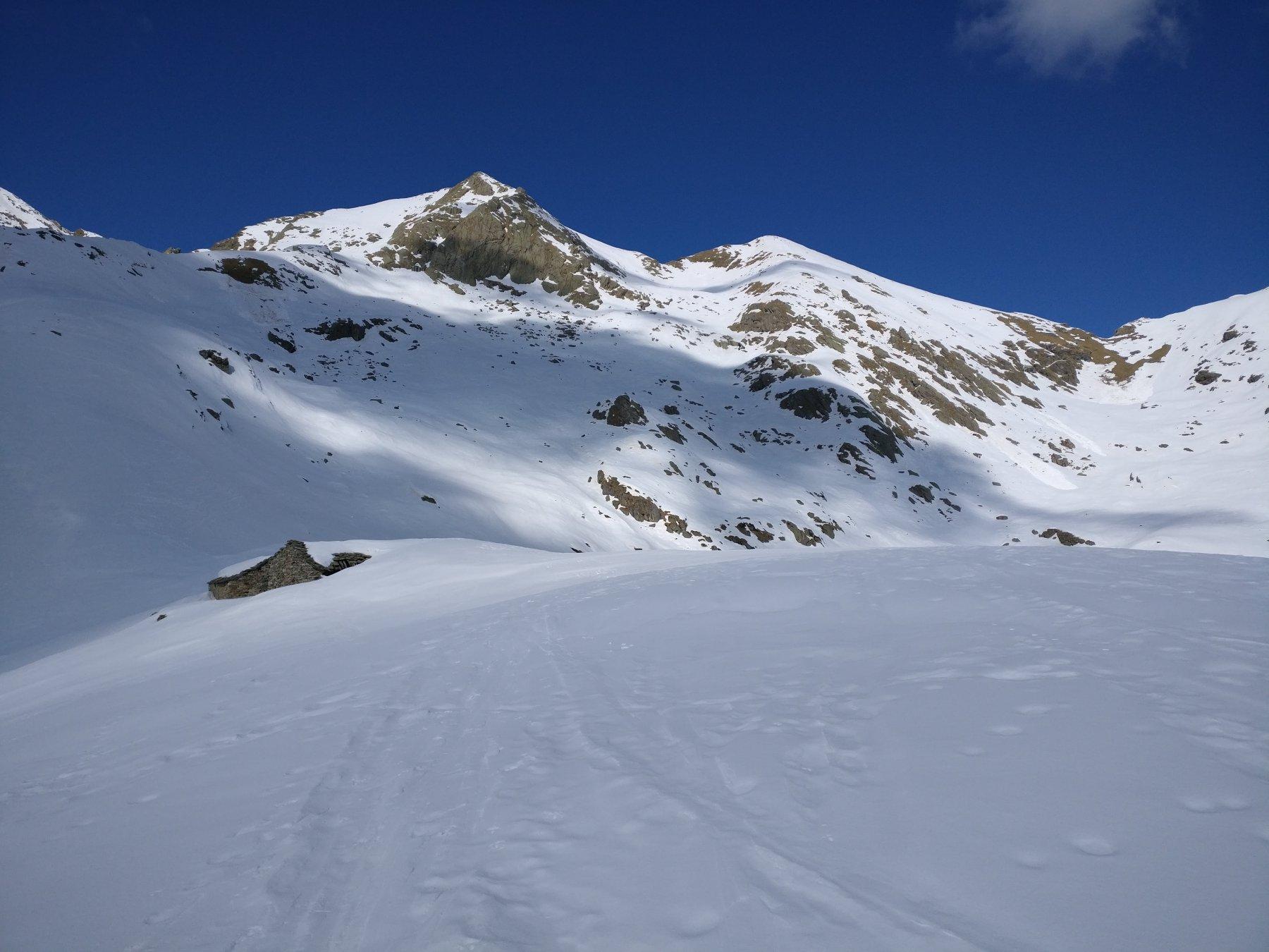 Dall'Alpe La Colma, la parte alta del percorso