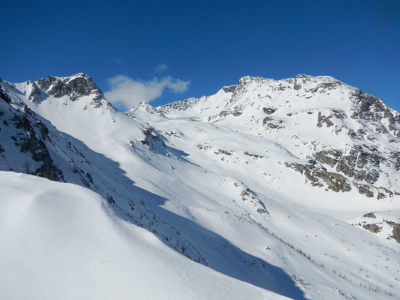 vista verso il Monte Giusalet