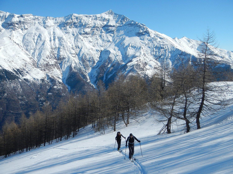 il Monte Rocciamelone sullo sfondo