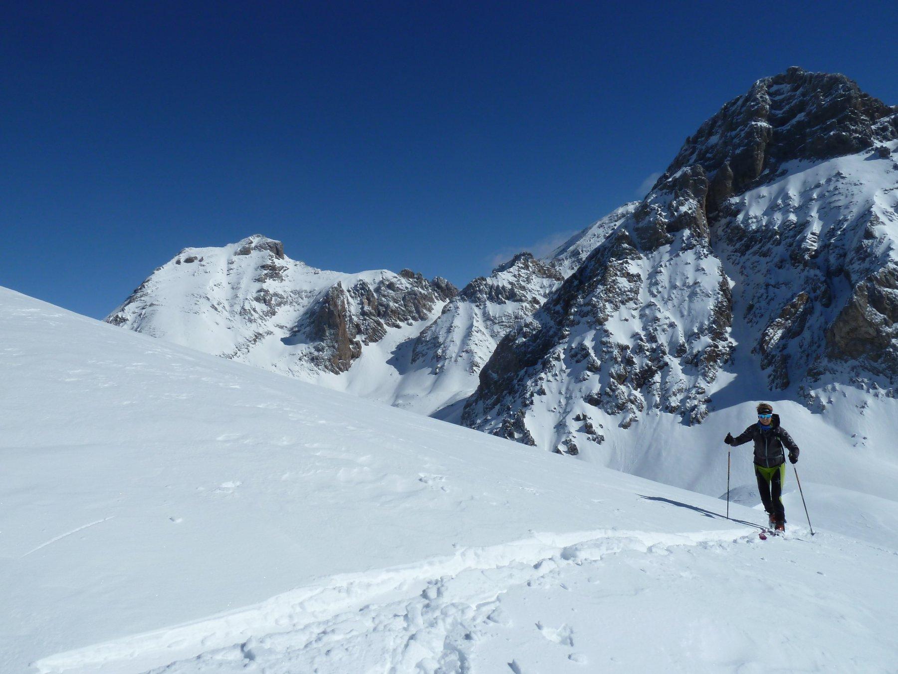 arrivo in cima al cospetto di Rocca Blancia, Sautron e Meyna