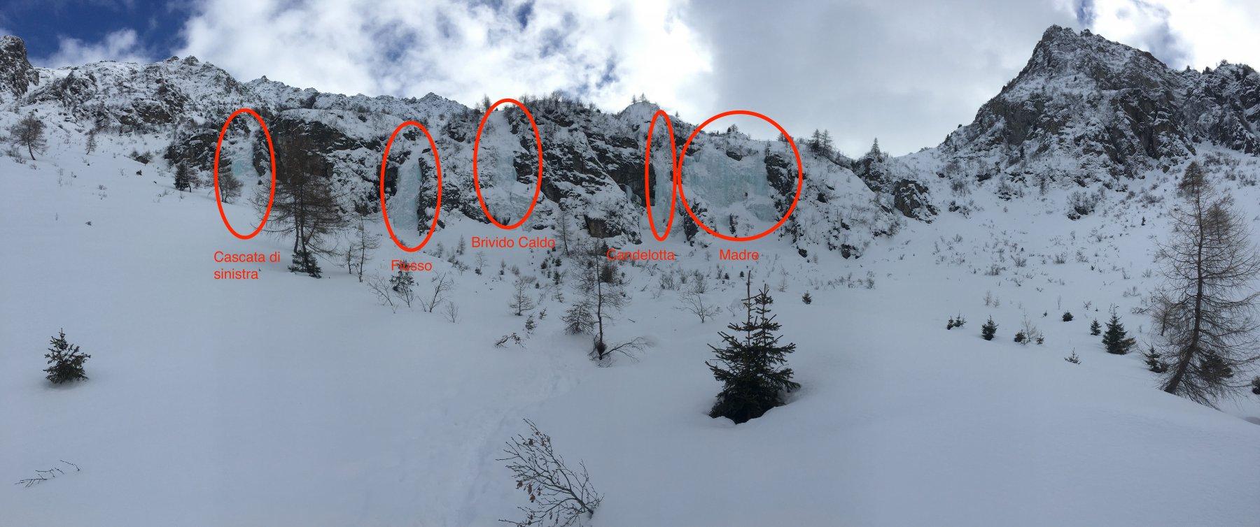 Valbione (Conca di) Flusso (Cascata) 2018-02-18