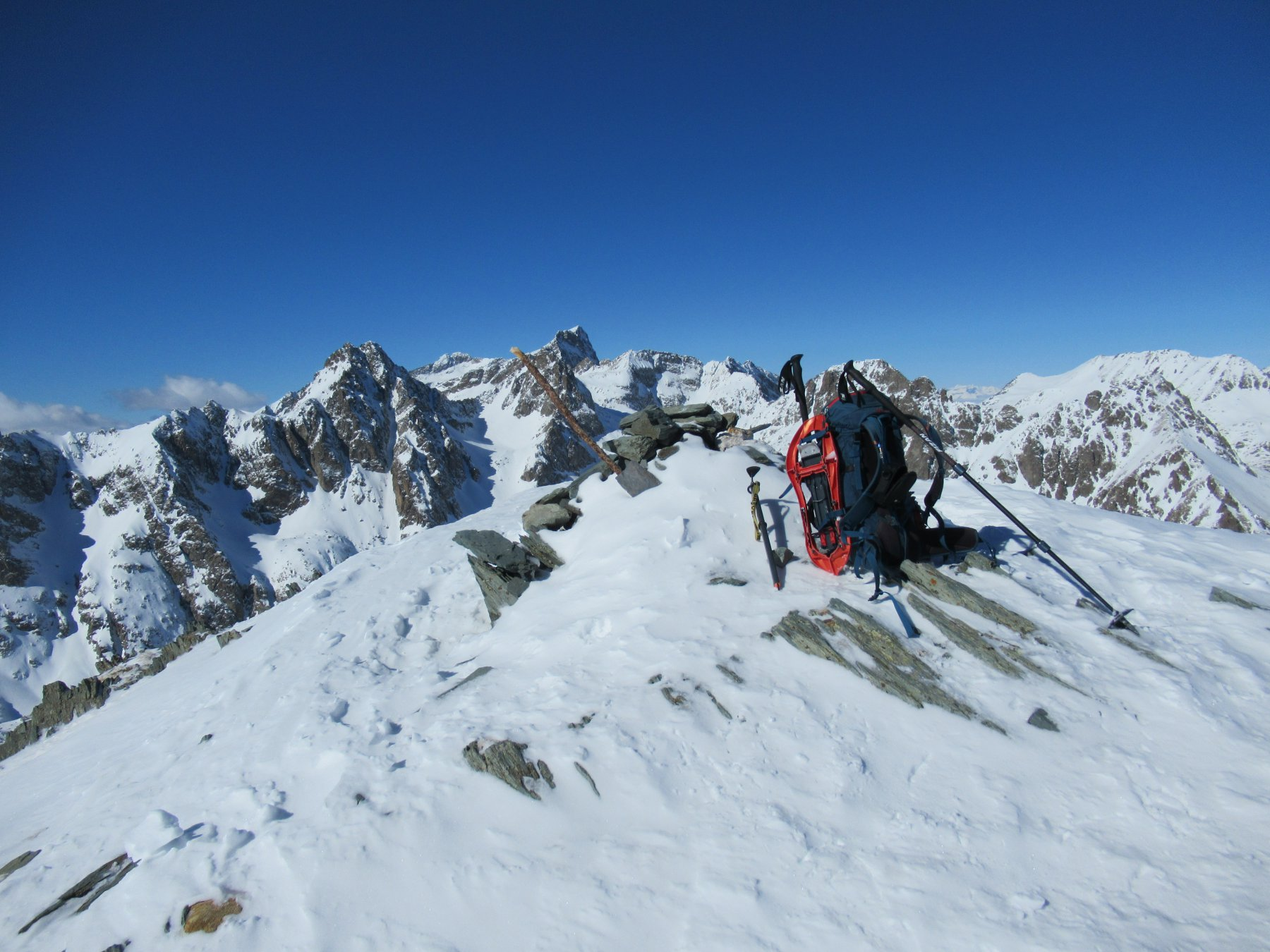 Mont Sainte Marie (m.2740).