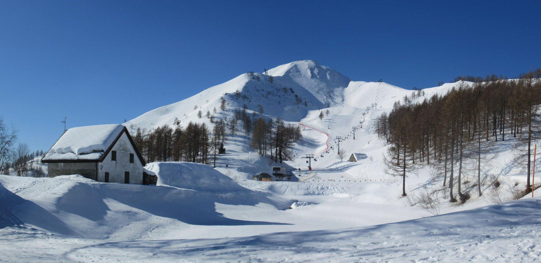 La ns meta vista dall'Alpe Casalavera