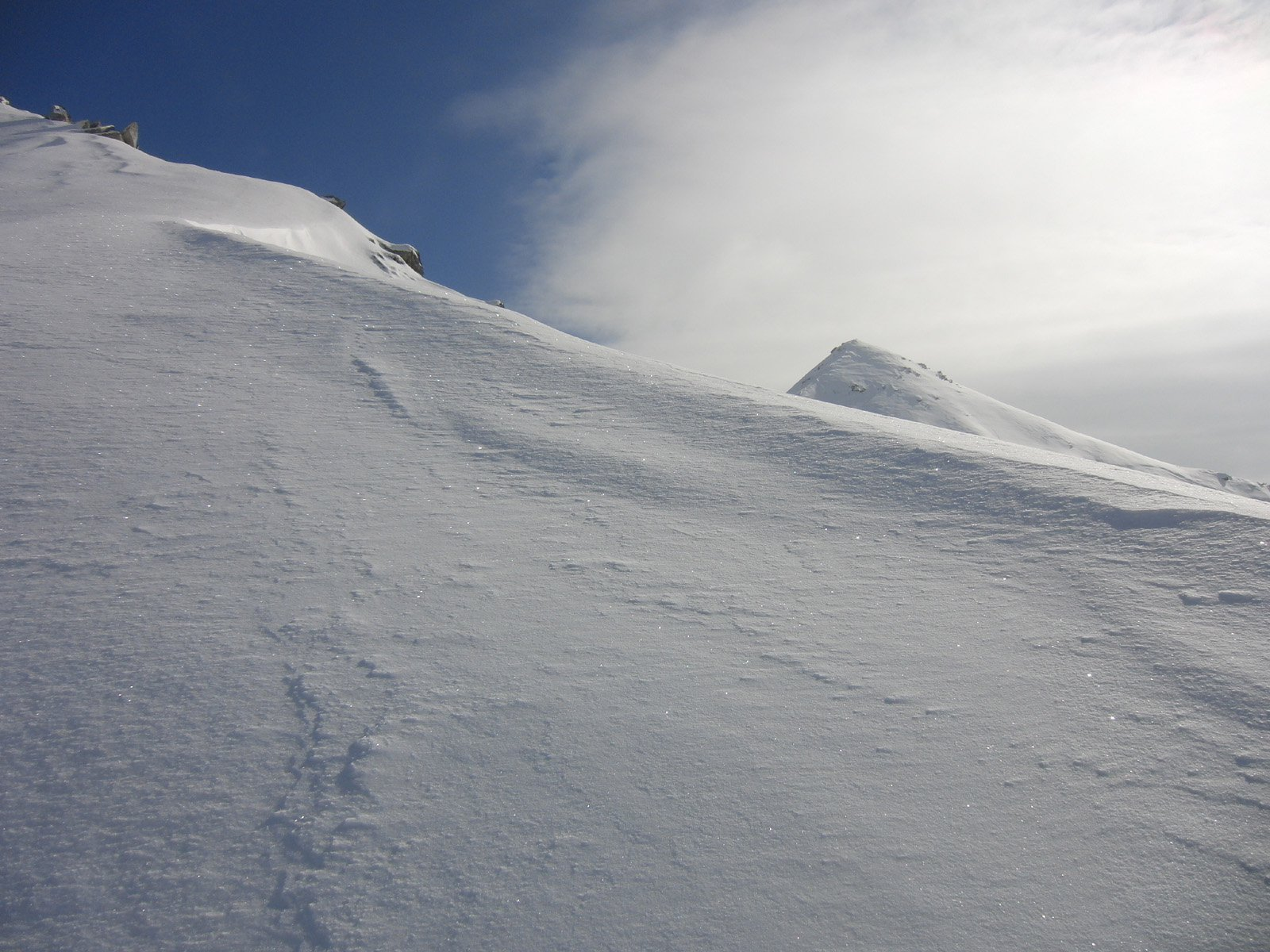 Il Montù dall'anticima NW