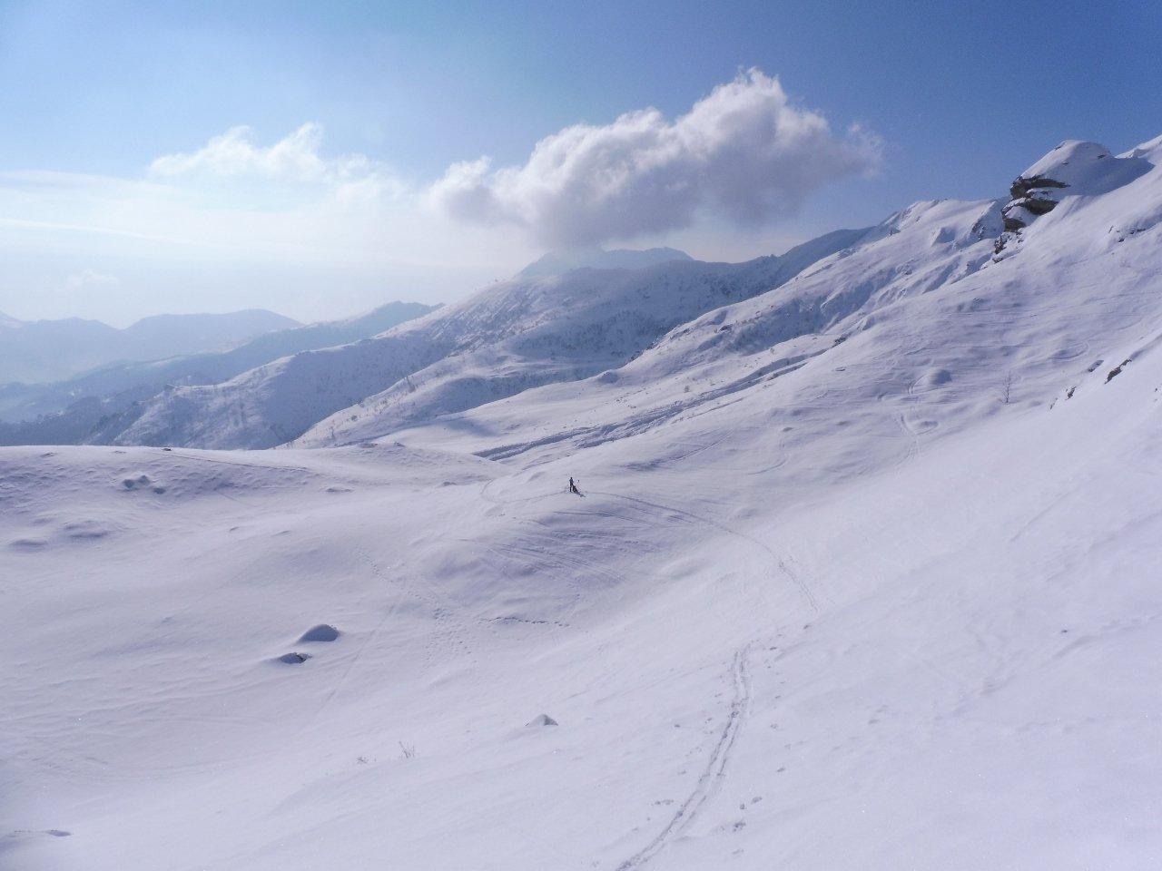 la nostra traccia alla Rocca dell'Alpe