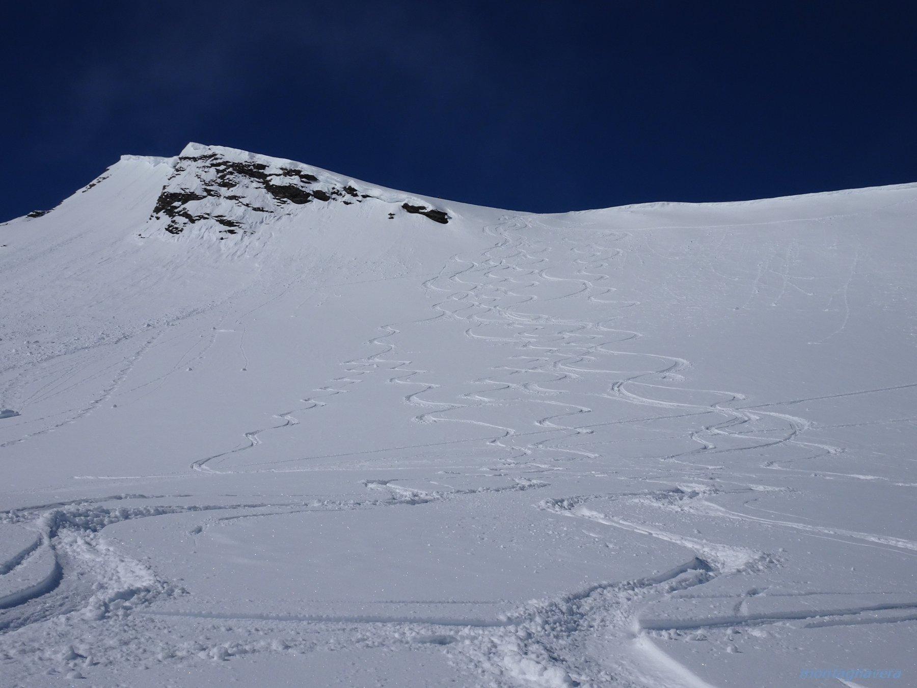 serpentine parte alta 2900-2400m