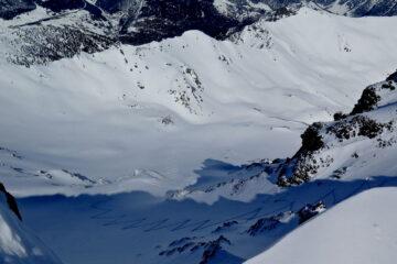 Il percorso visto dalla vetta   I   Le parcours vu depuis le sommet   I   The route seen from the summit   I   Die Route mit Blick vom Gipfel   I   Recorrido visto desde la cima