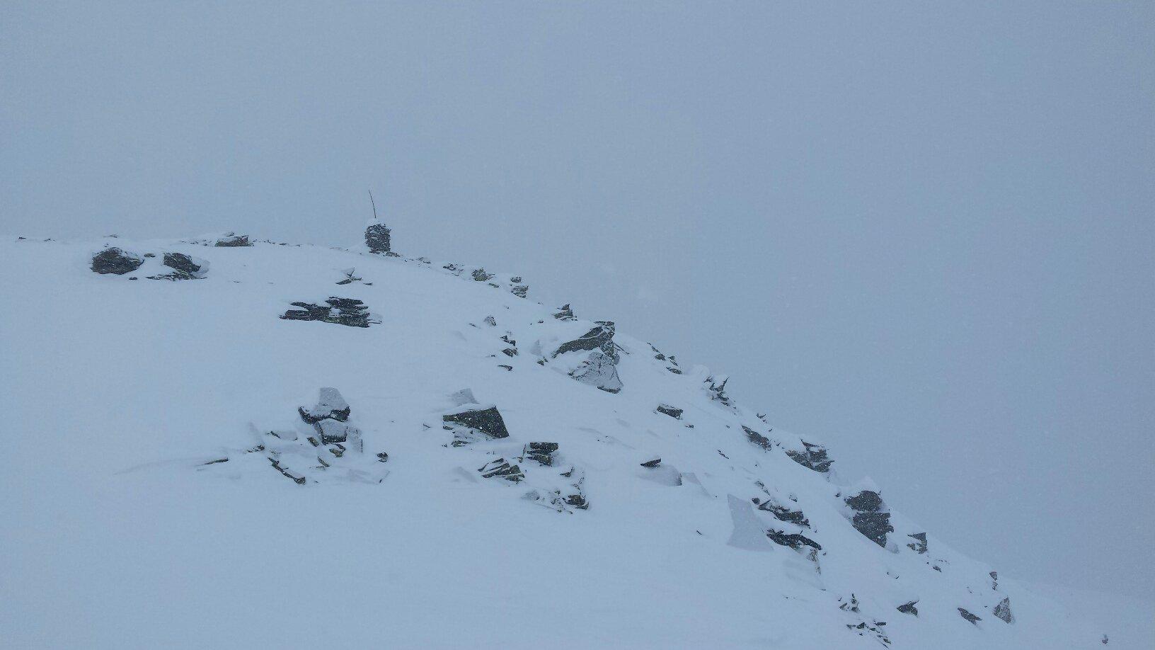 uno dei tre dossi che formano la cima