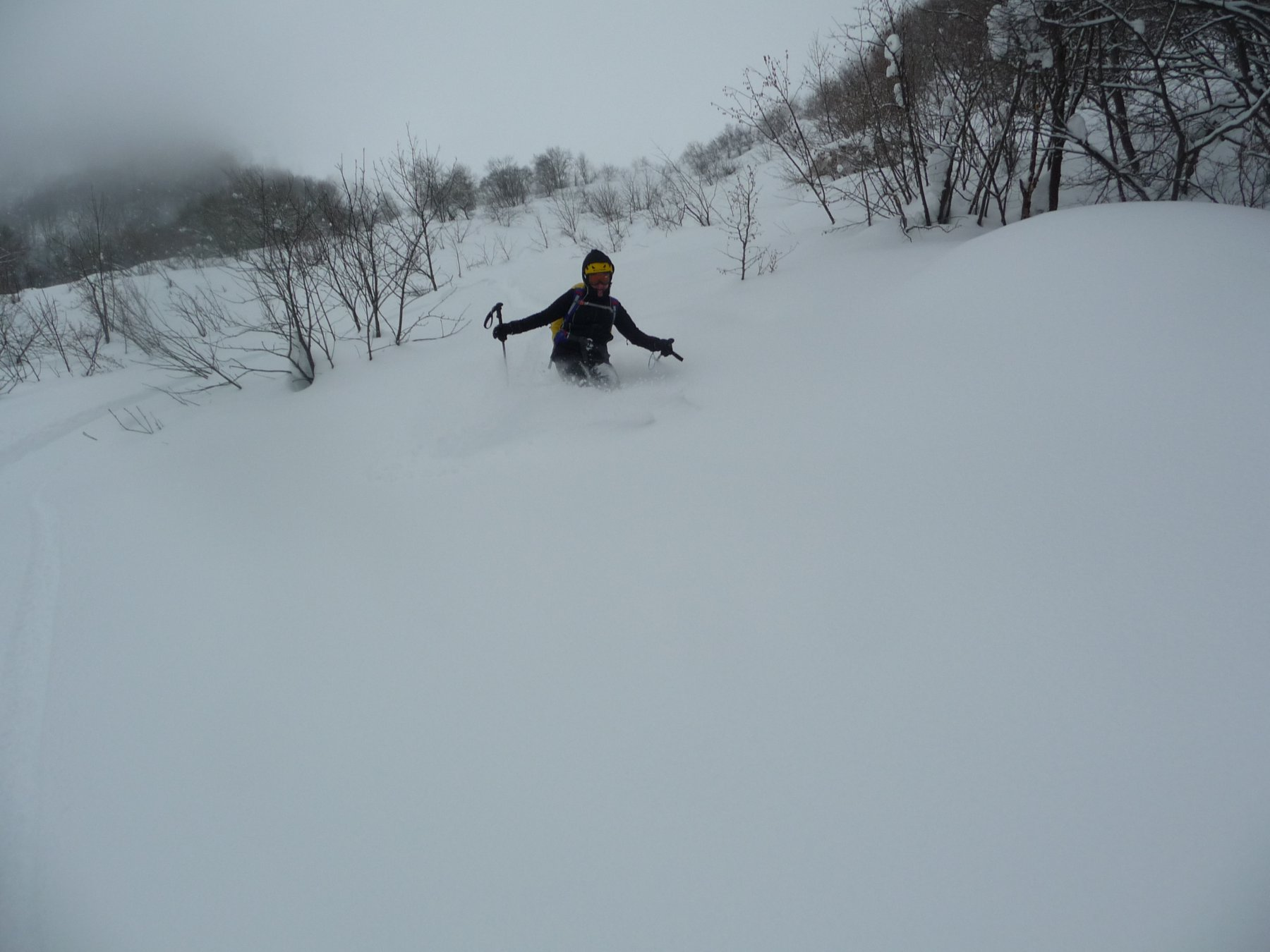 Tanta neve ma scorrevole