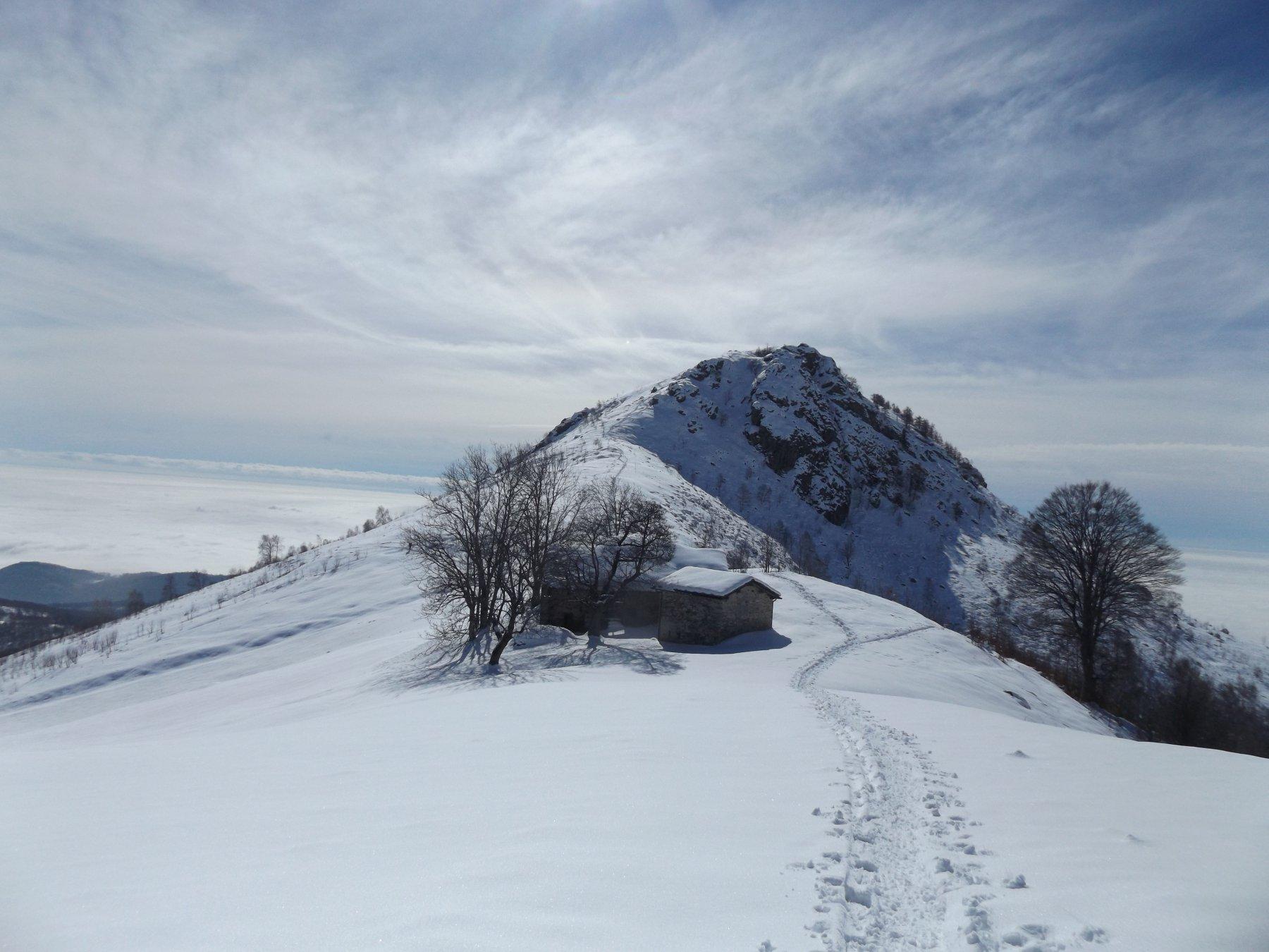 Monte Calvo dal colletto