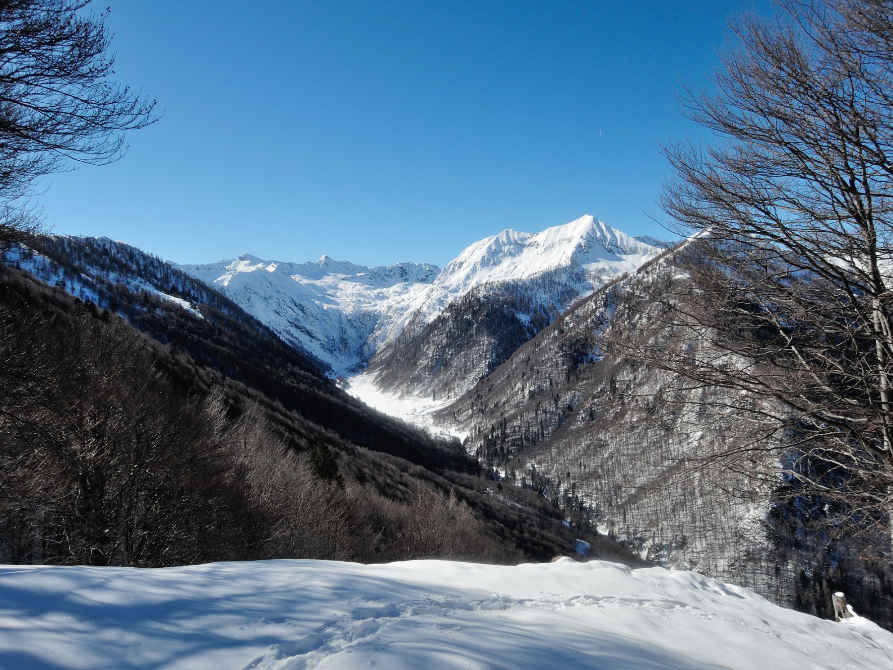 Vista sulla Val Loana