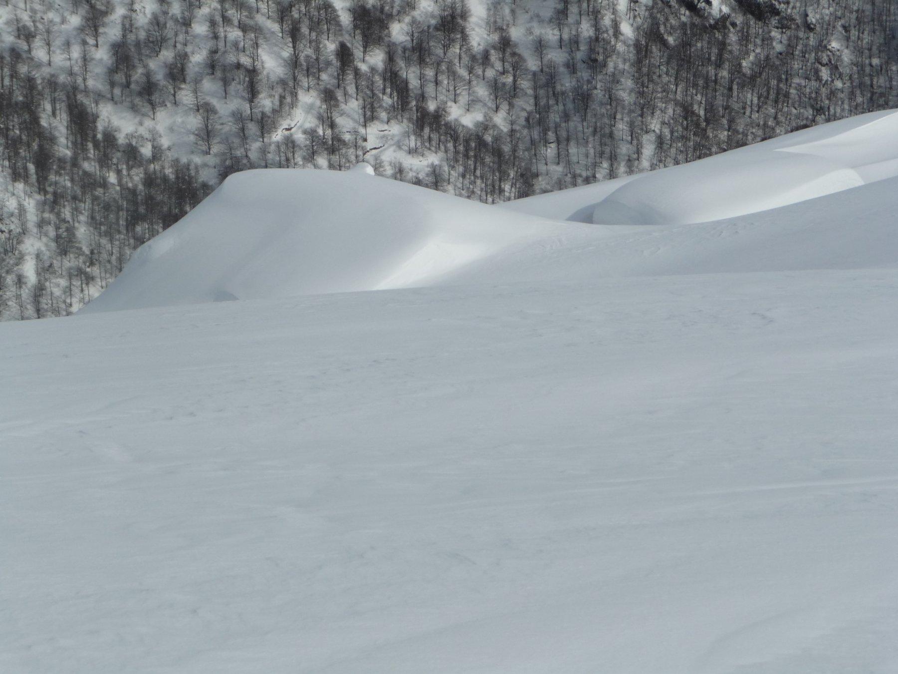Un pò di neve al Gias
