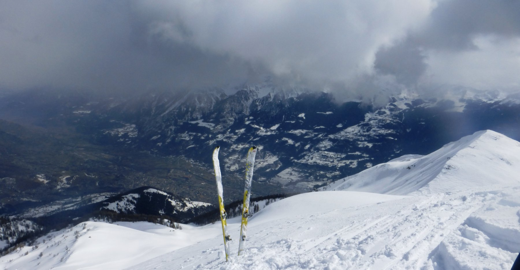 Aosta in basso