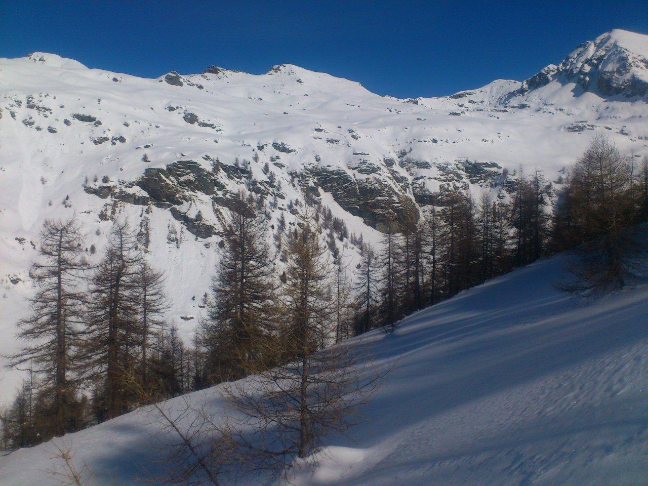 bella giornata e bella neve