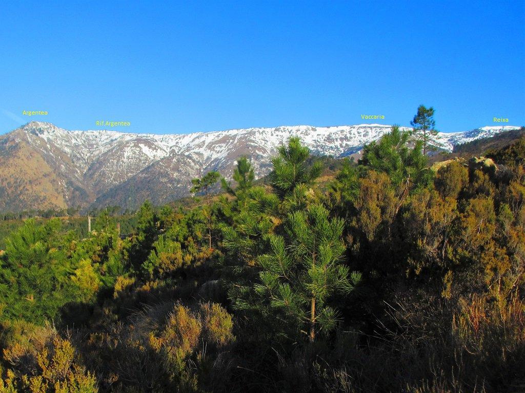 Panoramica dal sentiero per ric.Scarpeggin