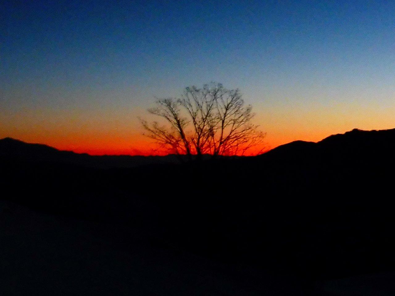 verso l'alba