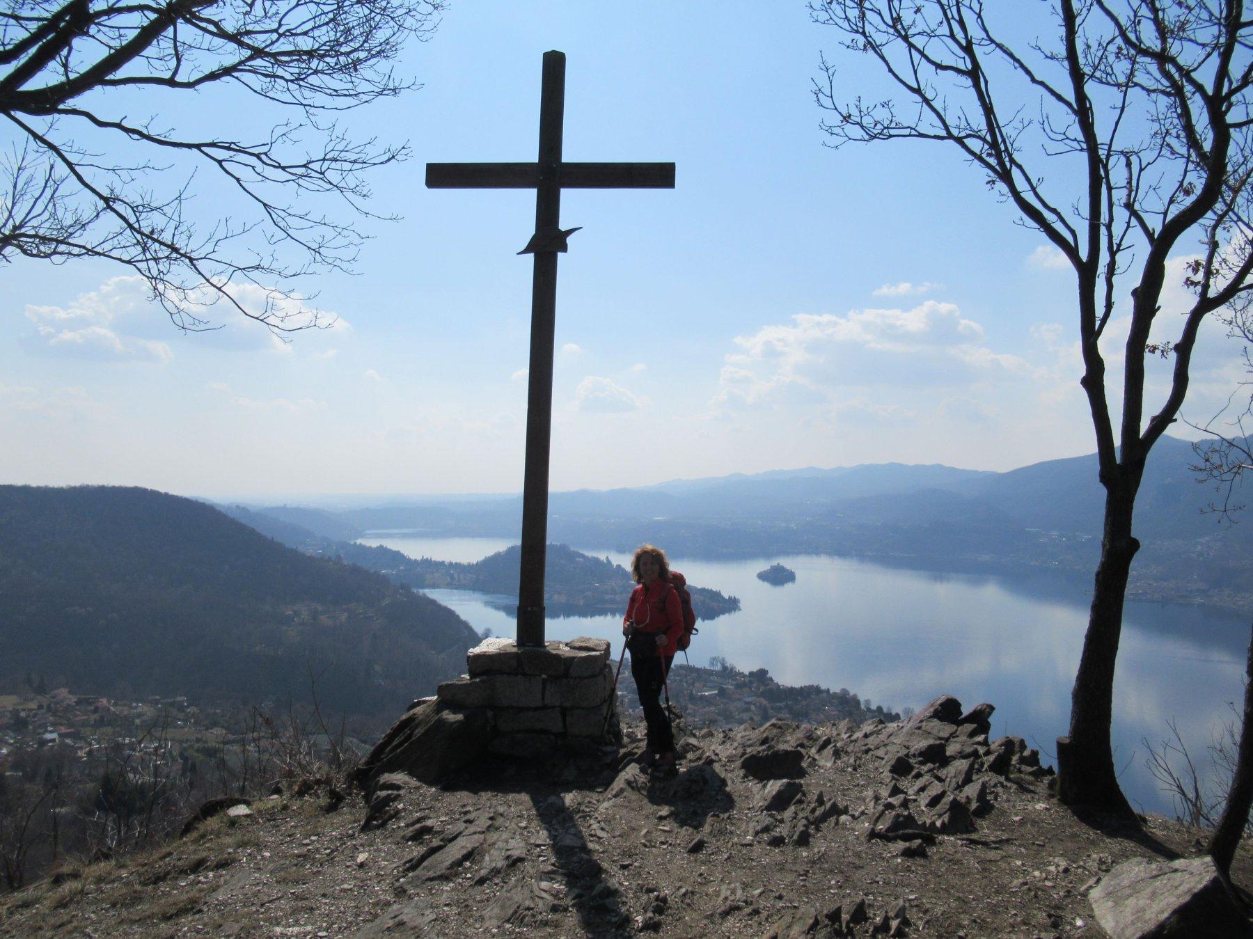 la Croce degli Alpini sul Monte Barro