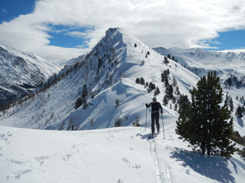 Dal Petit Cric vista sul Monte Corbioun
