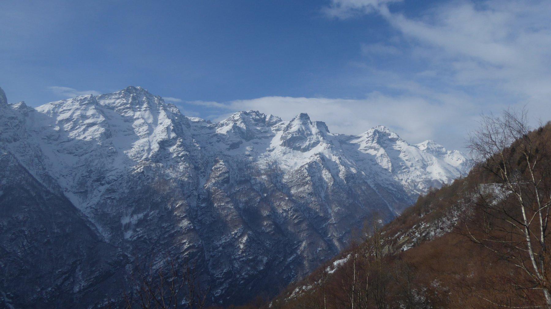 Dal Monte Tovo al Monte Unghiasse