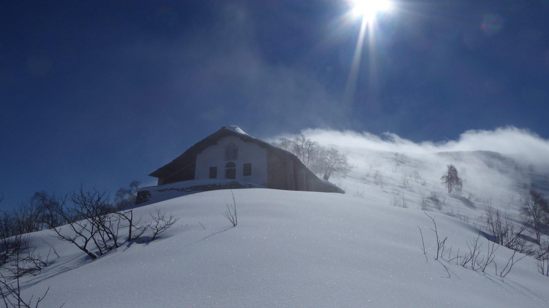 Giochi di nebbia, sole e venticello