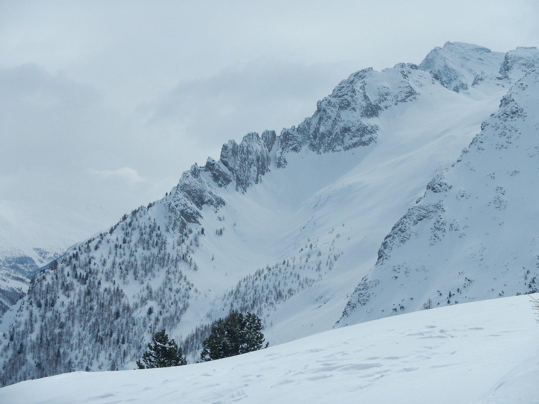 bella vista sul vallone del Gran Roc