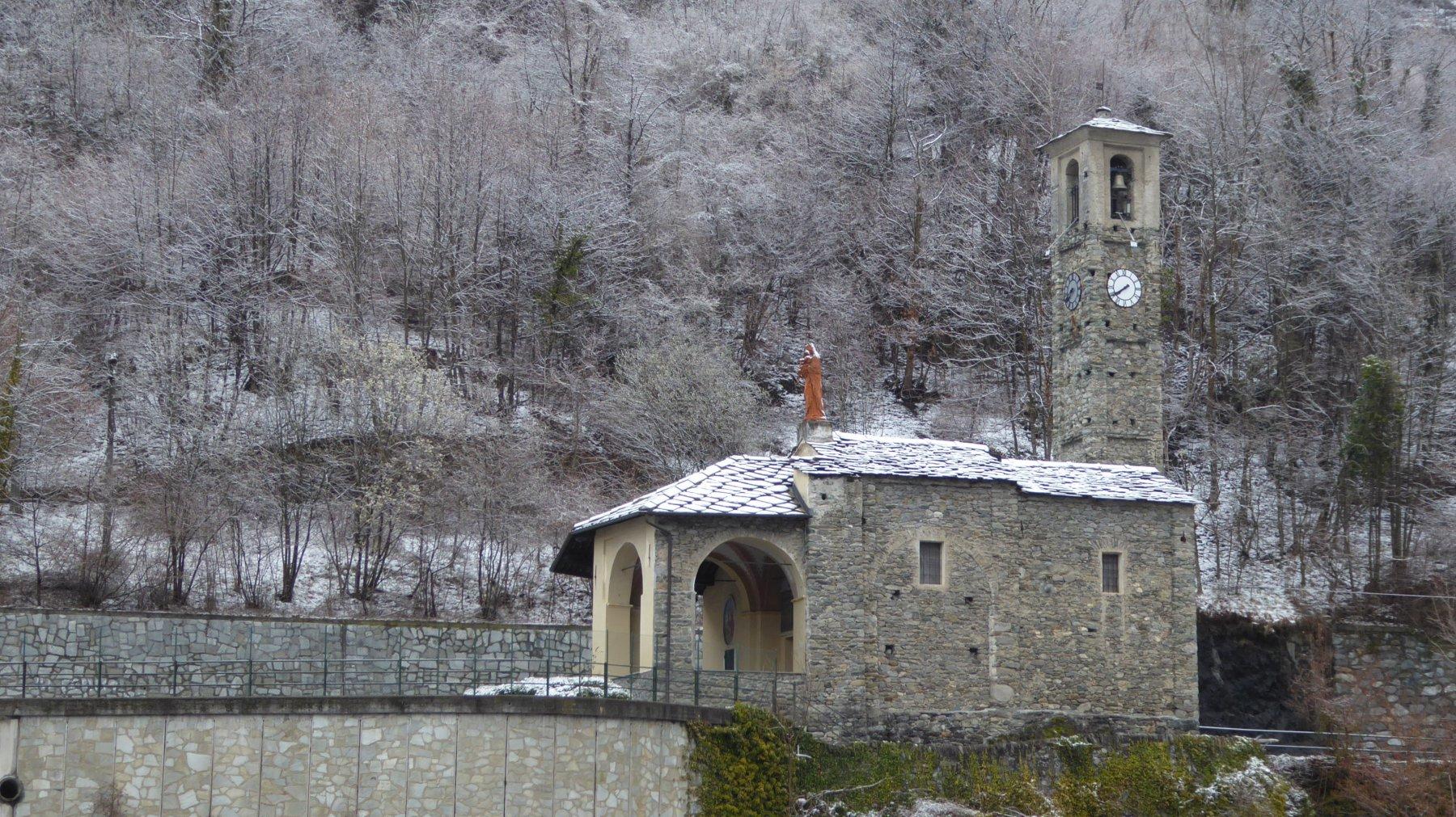 Santuario del Gurgo, alla partenza