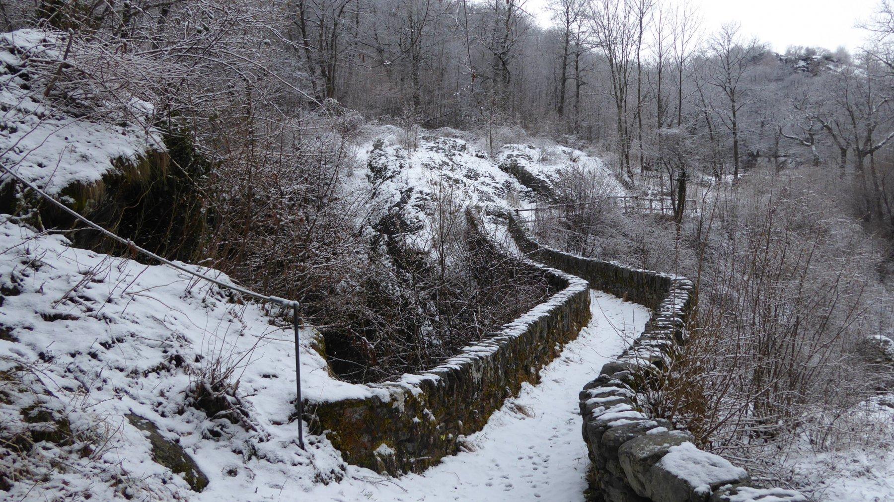 Ponte romanico del Verné