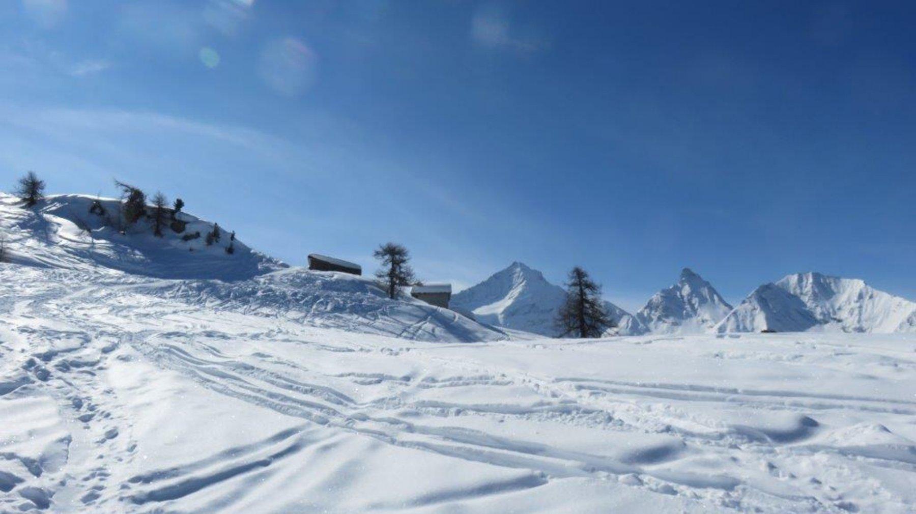 Arrivo all'Alpe Champchenille