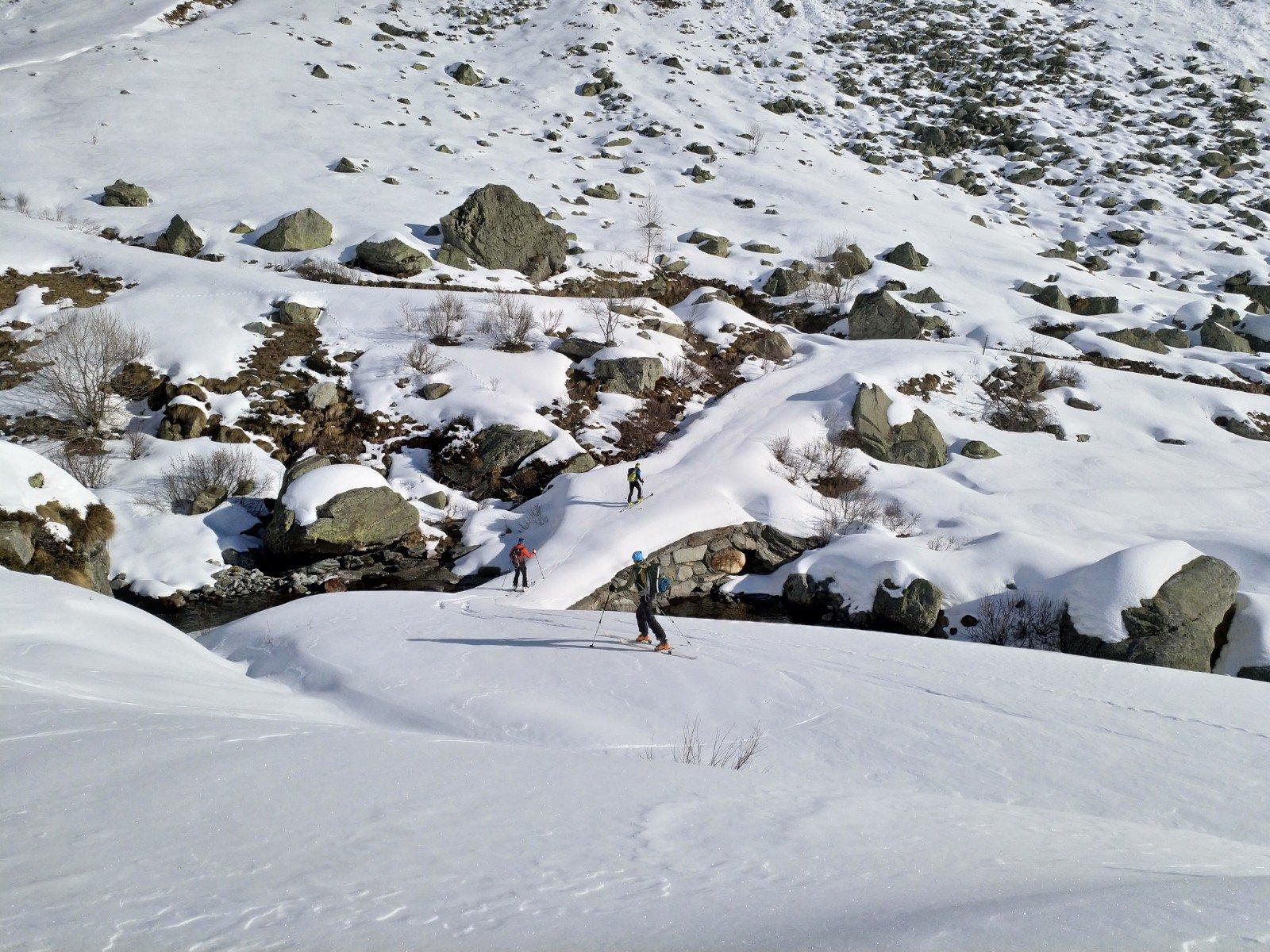 Il ponte all'alpe Pasquere