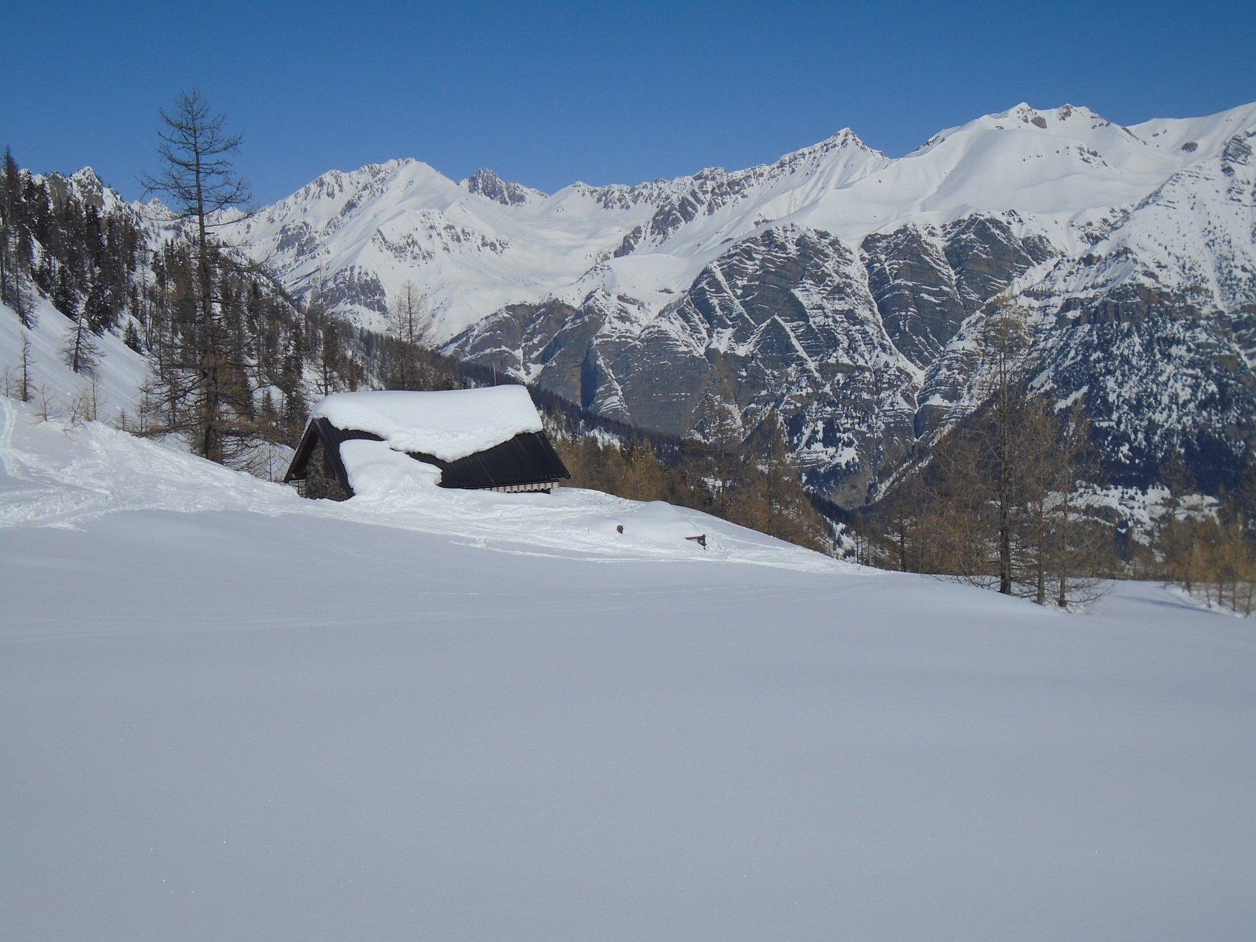 Gr. del Ciaval, tanta neve!