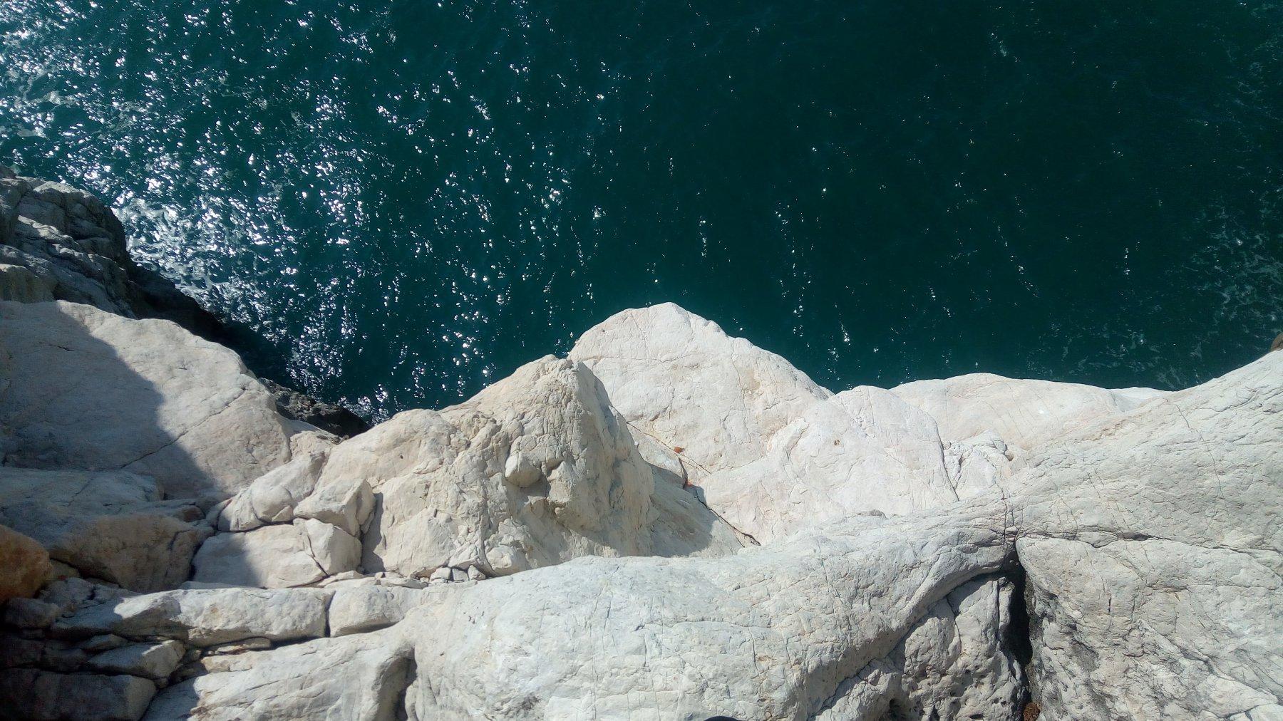 Partenza a pochi metri dal mare