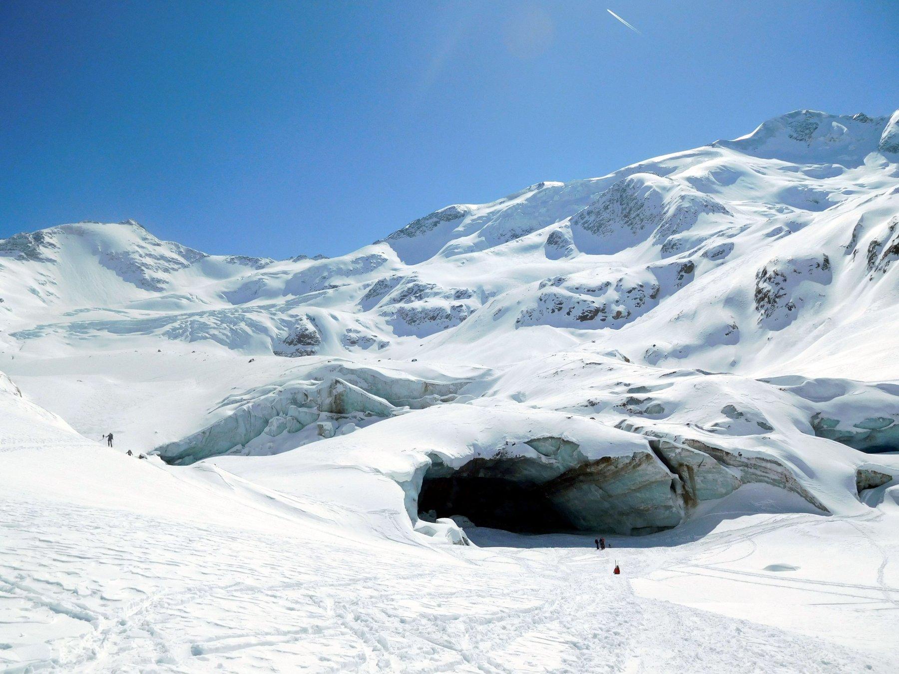 fronte ghiacciaio