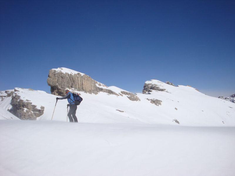 Fiscalina Est (Croda) / Oberbachern Spitze dalla Val Fiscalina 2009-03-24