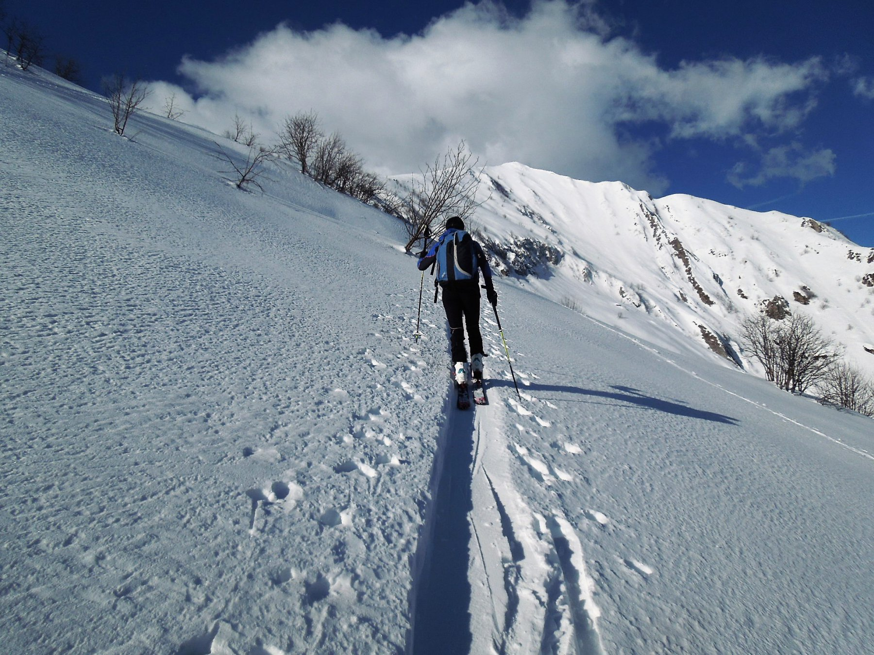 Sopra l'alpeggio